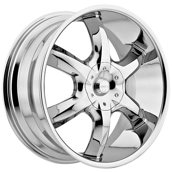 "22"" Akuza Road Concepts Series 760 Chrome Package"