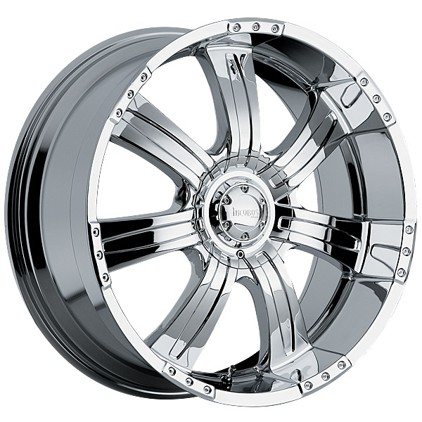"""22"""" Incubus Alloys Series 501 Chrome Package"""