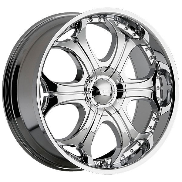 """24"""" Akuza Road Concepts Series 504 Chrome Package"""