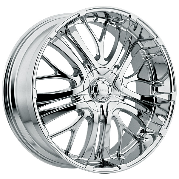 """24"""" Incubus Alloys Series 500 Chrome Package"""