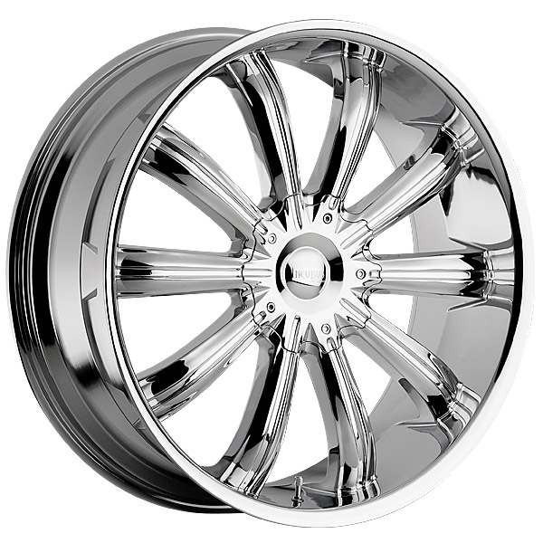 """24"""" Incubus Alloys Series 765 Chrome Package"""