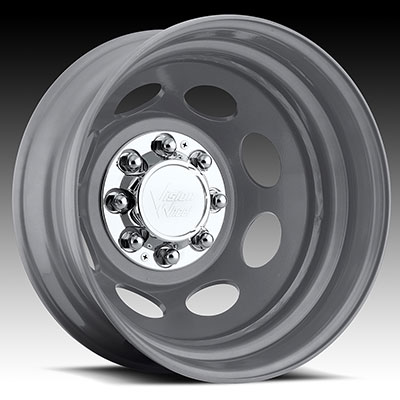 Cheap Rims And Tires Package >> Vision Steel Silver : Dually Wheels : Wheels : JK Motorsports