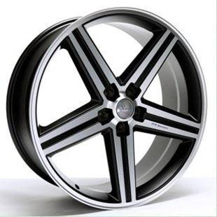 Wheel Replicas Iroc Black and Machined