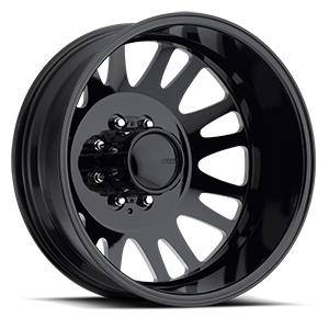 "American Eagle Wheels 20"" 0569 Dually  Gloss Black Milled Windows"