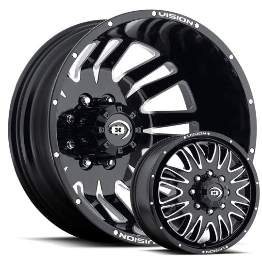 Vision Rival 401 Dually Wheels Wheels Jk Motorsports