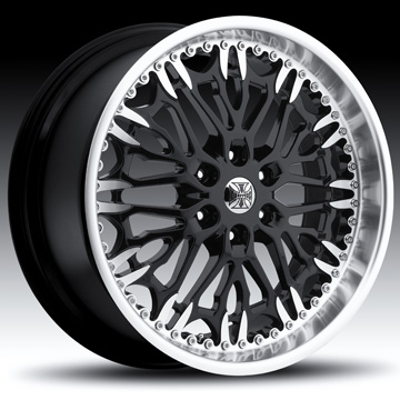 Jesse James J111 Skizom Black Wheels Jk Motorsports